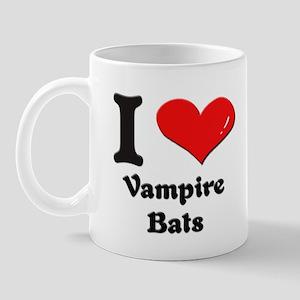 I love vampire bats  Mug
