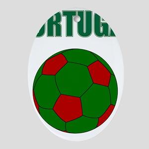 Portugal futebol soccer Ornament (Oval)
