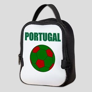Portugal futebol soccer Neoprene Lunch Bag