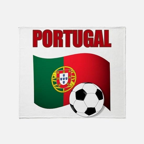Portugal futebol soccer Throw Blanket