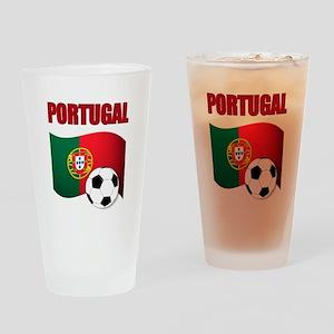 Portugal futebol soccer Drinking Glass