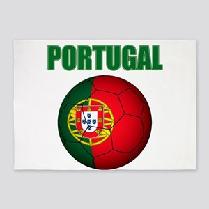 Portugal futebol soccer 5'x7'Area Rug