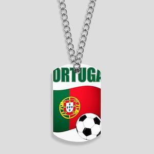 Portugal futebol soccer Dog Tags
