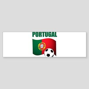 Portugal futebol soccer Bumper Sticker