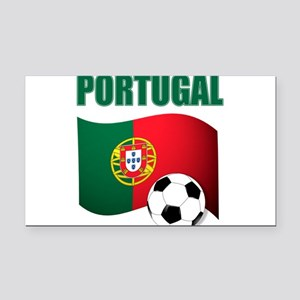 Portugal futebol soccer Rectangle Car Magnet