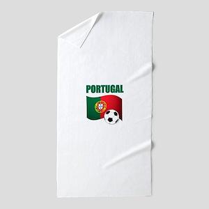 Portugal futebol soccer Beach Towel