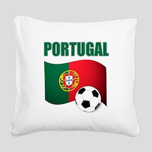 Portugal futebol soccer Square Canvas Pillow