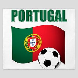 Portugal futebol soccer King Duvet