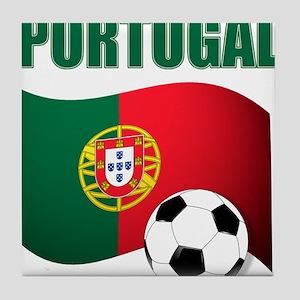 Portugal futebol soccer Tile Coaster