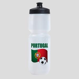 Portugal futebol soccer Sports Bottle