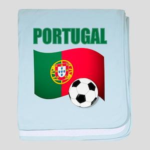 Portugal futebol soccer baby blanket