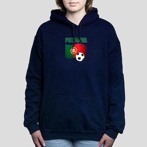 Portugal futebol soccer Women's Hooded Sweatshirt