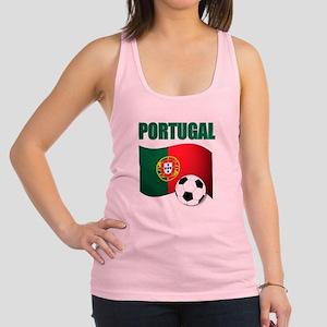 Portugal futebol soccer Racerback Tank Top