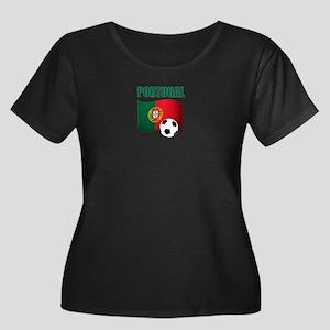 Portugal futebol soccer Plus Size T-Shirt