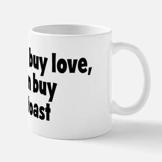 tea and toast (money) Mug