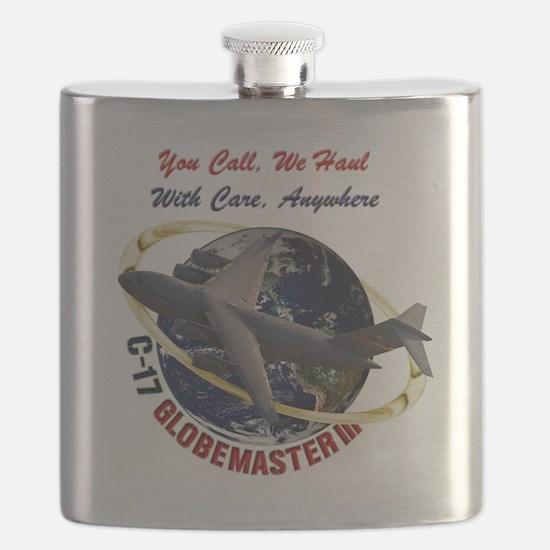 C-17 You Call, we Haul Flask