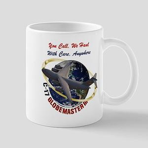 C-17 You Call, we Haul Mugs