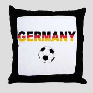 Germany soccer Throw Pillow