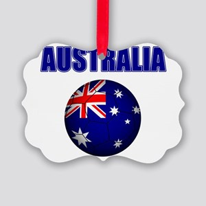 Australia Football Ornament