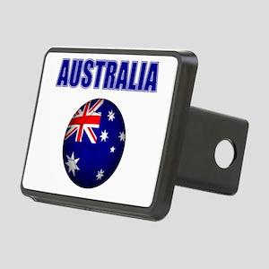 Australia Football Hitch Cover