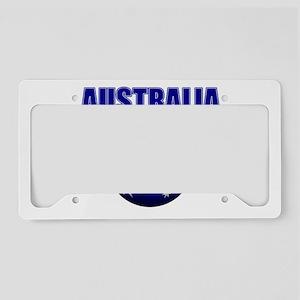 Australia Football License Plate Holder