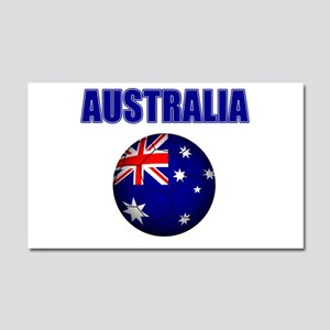 Australia Football Car Magnet 20 x 12