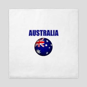 Australia Football Queen Duvet