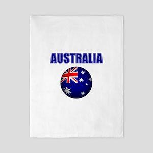 Australia Football Twin Duvet