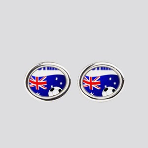 Australia Football Oval Cufflinks