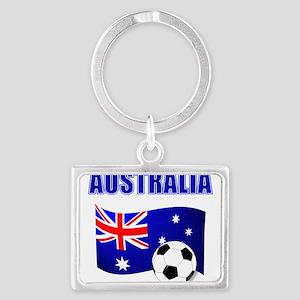 Australia Football Keychains