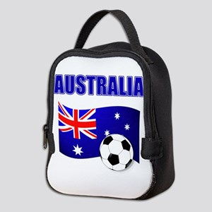 Australia Football Neoprene Lunch Bag