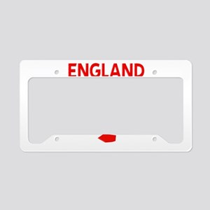 England Football License Plate Holder