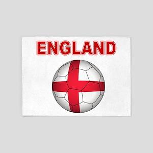 England Football 5'x7'Area Rug
