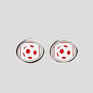 England Football Oval Cufflinks