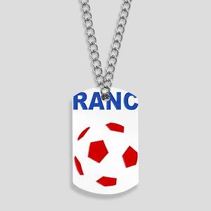 France Football Dog Tags