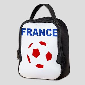 France Football Neoprene Lunch Bag