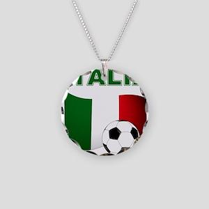 Italia calcio football Necklace