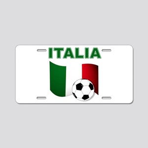 Italia calcio football Aluminum License Plate