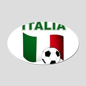 Italia calcio football Wall Decal