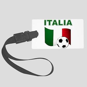 Italia calcio football Luggage Tag