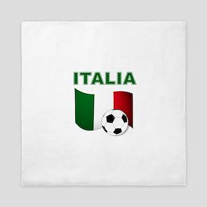 Italia calcio football Queen Duvet