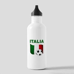 Italia calcio football Water Bottle