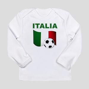 Italia calcio football Long Sleeve T-Shirt