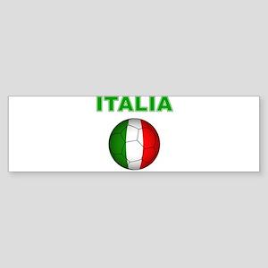 Italia calcio football Bumper Sticker