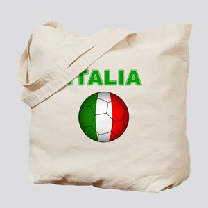 Italia calcio football Tote Bag
