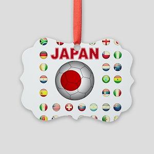 Japan soccer Ornament
