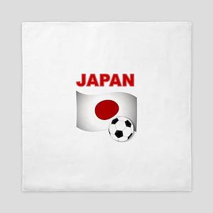 Japan soccer Queen Duvet