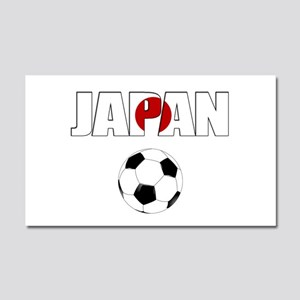 Japan soccer Car Magnet 20 x 12