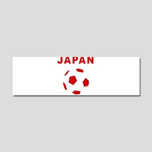 Japan soccer Car Magnet 10 x 3