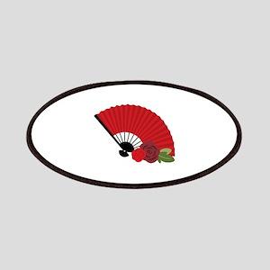 Spanish Asian Flamenco Folding Fan Patches